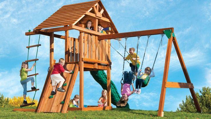 Plastic Swing Sets: Built To Last