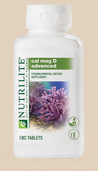 NUTRILITE Cal Mag D Advanced - An adequate source of calcium is key to growing strong bones and maintaining good overall health. New NUTRILITE Cal Mag D Advanced is a reformulation of our current Cal Mag D Supplement using one of nature's most concentrated plant sources of calcium  #vitaminC #bestvitamins #nutrilite http://www.amway.com/ healthwealth
