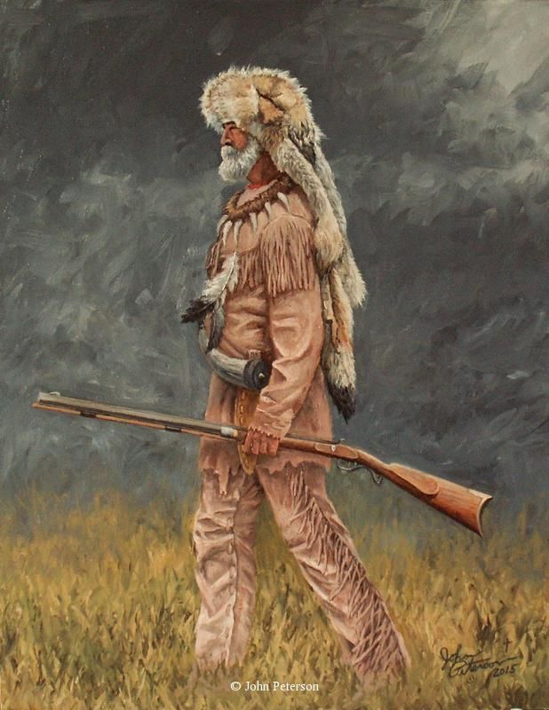 Western, Native American & Mountain Man Art by John Peterson 12