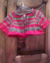 vestito & coprispalle bimba top-down