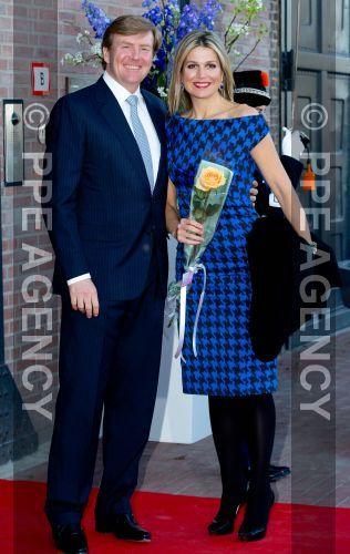 La famille royale des Pays-Bas à un concert