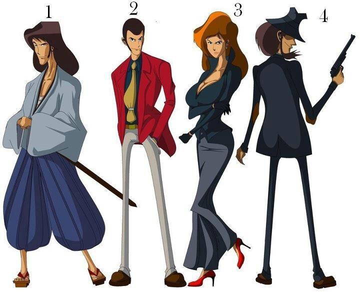 Lupin 3rd. Lupin iii, Favorite character, Anime