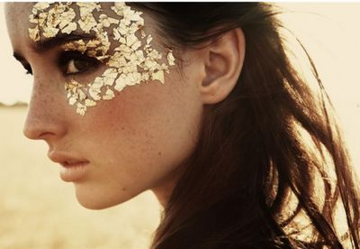 Glitter. Embellishment. Eyes.