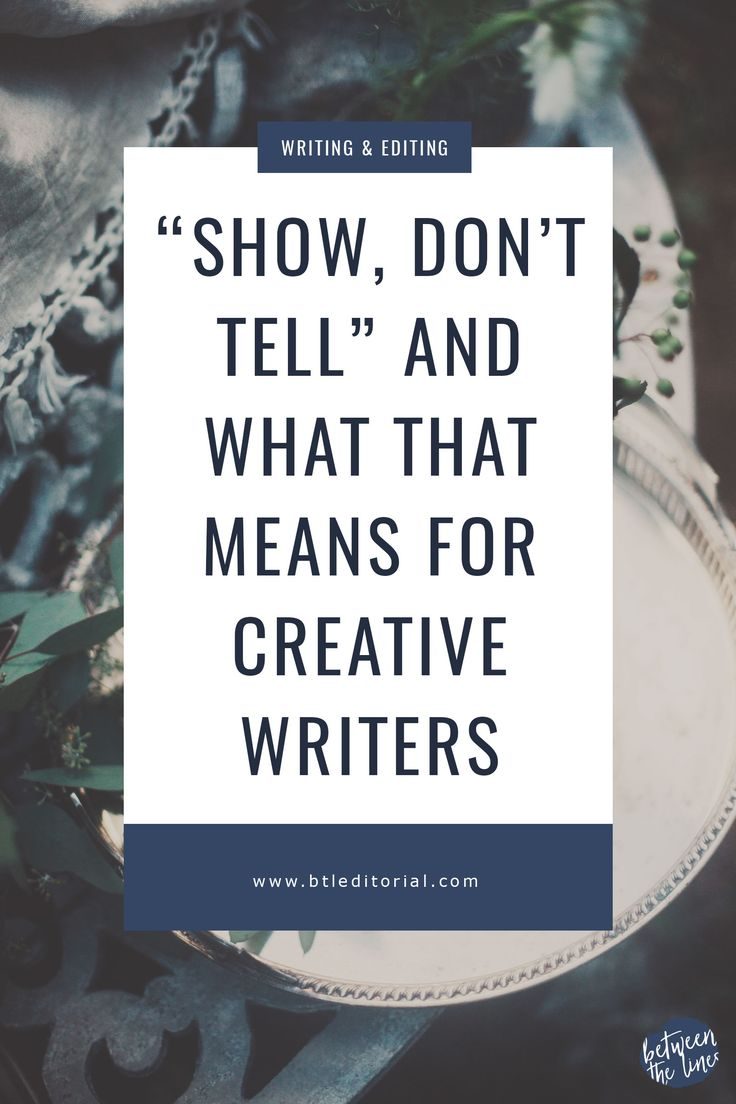 """""""Show, don't tell!"""" It's arguably the oldest saying in the literary world. If you're a writer, especially a fiction author, you probably hear this advice all the time. But what exactly does it mean? Showing vs. telling was something I struggled with my sophomore year of college. It wasn't because I was a bad writer,…"""