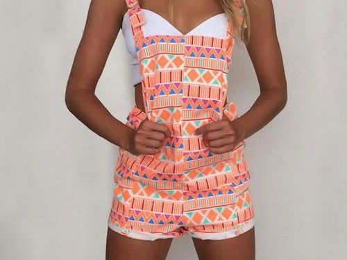 These might be the only overalls I could ever get behind. Cute summer look.
