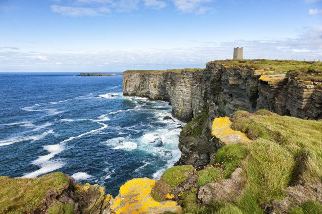 (theasis via Getty Images) With spectacular scenery, ancient ruins and dramatic cathedral, Scotland's Orkney Islands have been named Britain's best for quality of life. Despite having to hop on a ferry to get there and just one nightclub, greenery as far as the eye  can see, low crime rates and affordable housing make it the place to set up home.