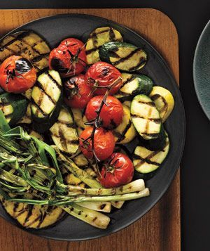 Grilled Mediterranean Vegetables ~ simple, delicious, healthy, AND beautiful....
