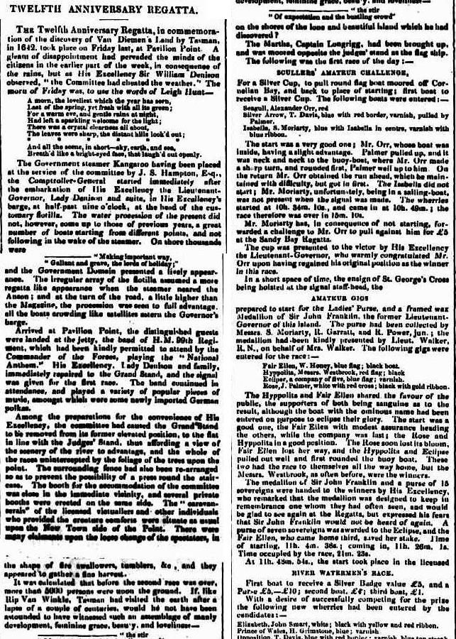 Courier (Hobart, Tas. : 1840 - 1859), Wednesday 5 December 1849, page 2