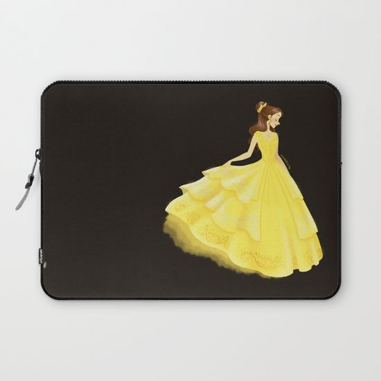 Golden Beauty Laptop Sleeve