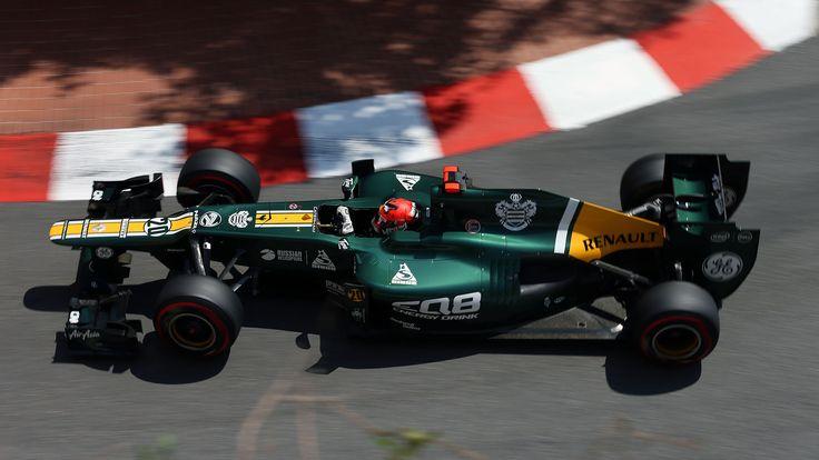 2012 GP Monaco (Heikki Kovalainen) Caterham CT01 - Renault