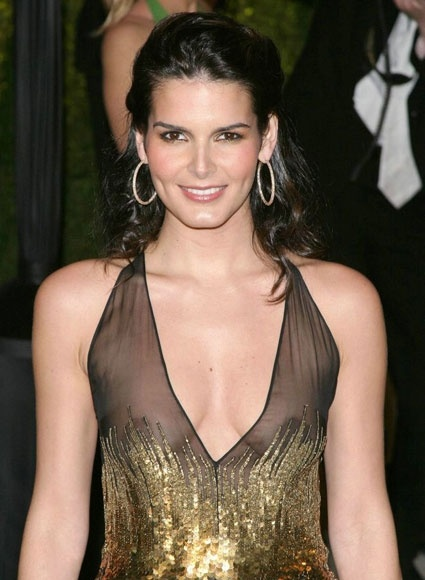 See Celebrities Wearing Her: 30 Sexy Celebs Gone Braless Angie Harmon
