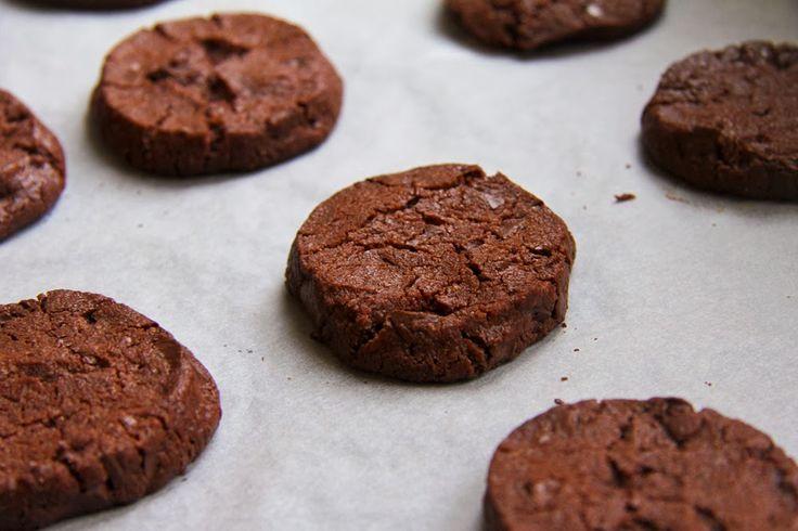 Krebsen und Aluette: Chocolate Chip Sablés