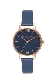 **In the Navy Watch by Olivia Burton