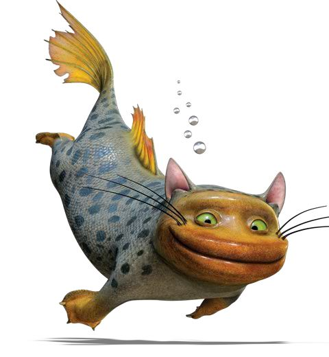 11 best images about animals from the croods on pinterest for Fish video for cats