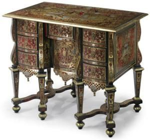 9 Antique Desk Styles You Probably Don't Know: Bureau Mazarin