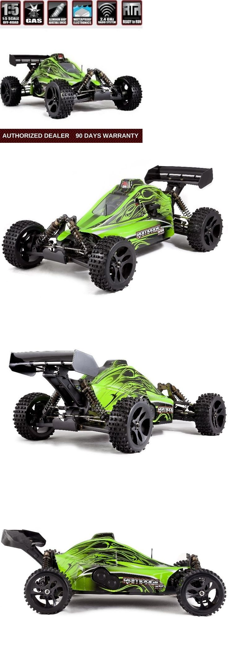Cars Trucks and Motorcycles 182183: Redcat Racing Rampage Xb Rc Truck 1 5 Scale Gas 2.4Ghz Remote Control Green Body -> BUY IT NOW ONLY: $559.99 on eBay!