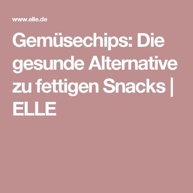 Gemüsechips: Die gesunde Alternative zu fettigen Snacks | ELLE
