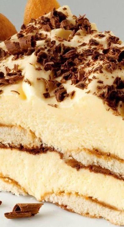 Easy Tiramisu Pie | Dessert Recipes | Pinterest | Tiramisu, Recipe and ...