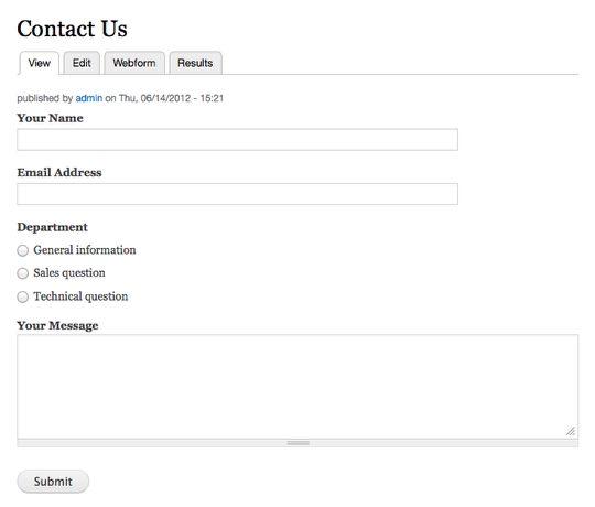Sending Drupal Webform Results to Different Email Addresses