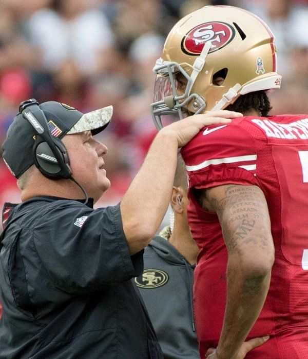 """Bill Belichick on Colin Kaepernick: """"He's a very dangerous player back there"""""""