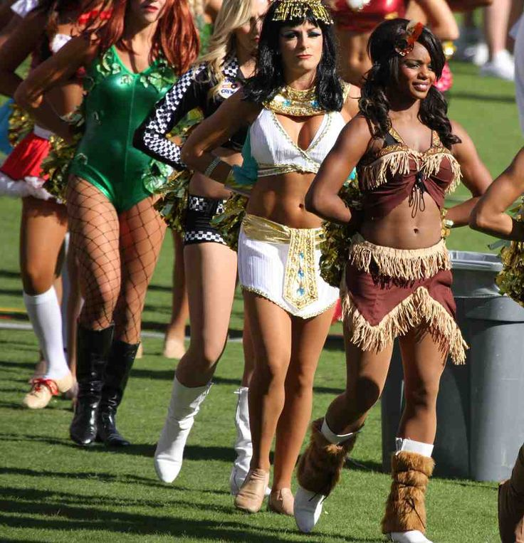 NFL Cheerleaders Halloween Costumes