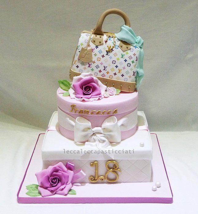 Gift Box Cake Decoration : 17 migliori immagini su Gift Box, Hat Box & Parcel Cakes ...