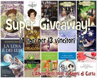 Sogni di Carta: Super Giveaway: 14 libri per 13 vincitori!