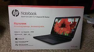 "New SEALED HP 17 3"" 17 P121WM Laptop PC Notebook AMD 4GB 500GB DVDRW Window 10   eBay"