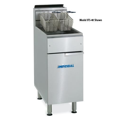 Imperial - IFS-2525 - Elite 25 Lb Split Pot Commercial Gas Fryer