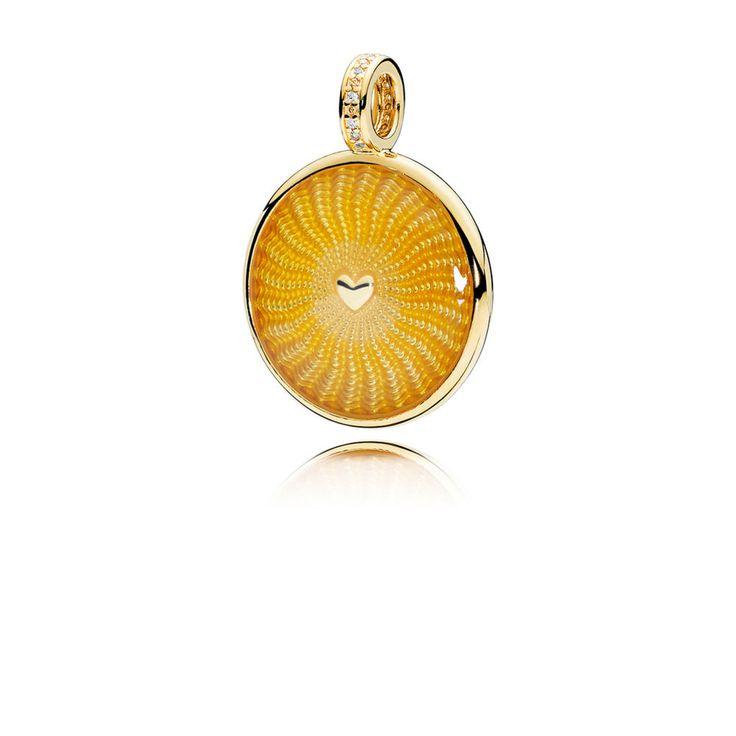 PANDORA Shine Rays of Sunshine Necklace Pendant   PANDORA eSTORE