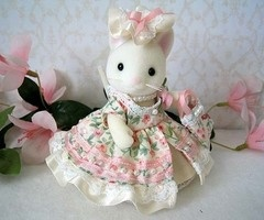rabbit waering dress