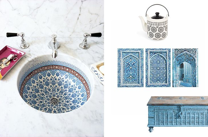 Pi di 25 fantastiche idee su bagno marocchino su for Arredamento stile marocco