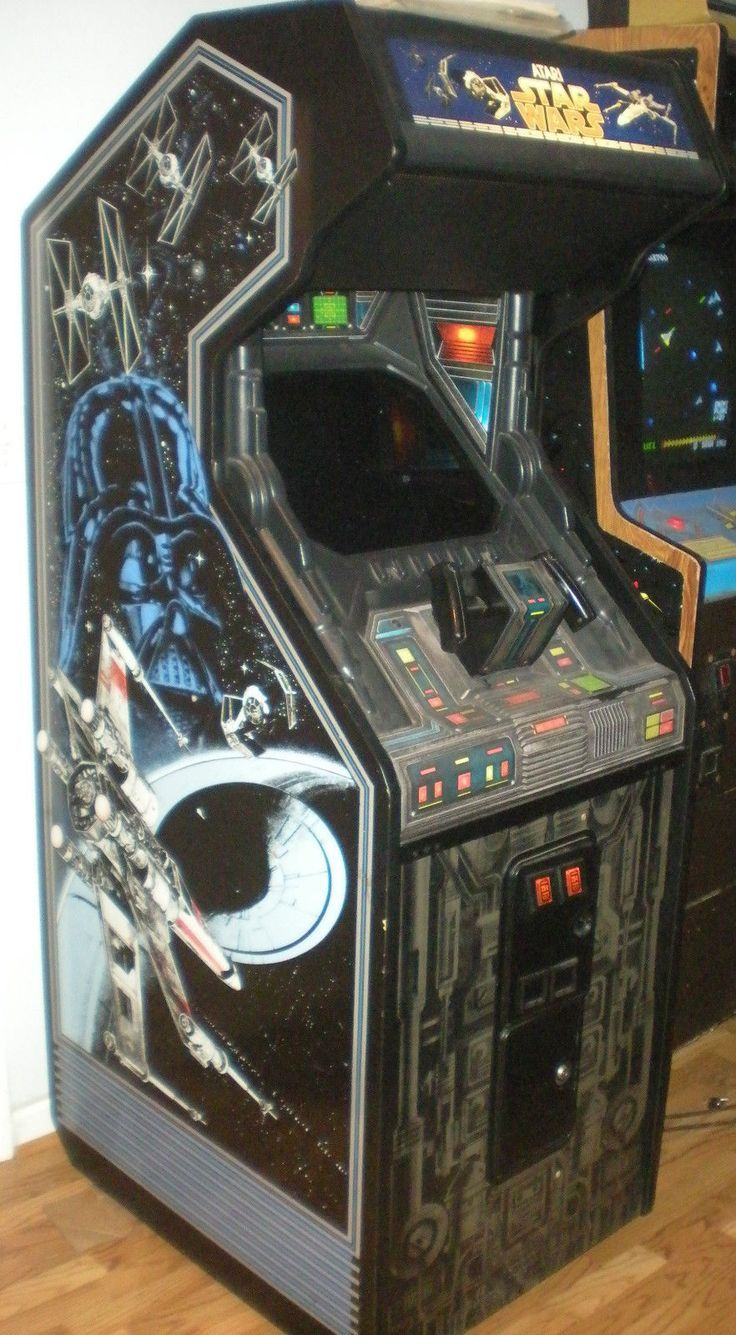 Star Wars Atari 1983 Arcade Machine