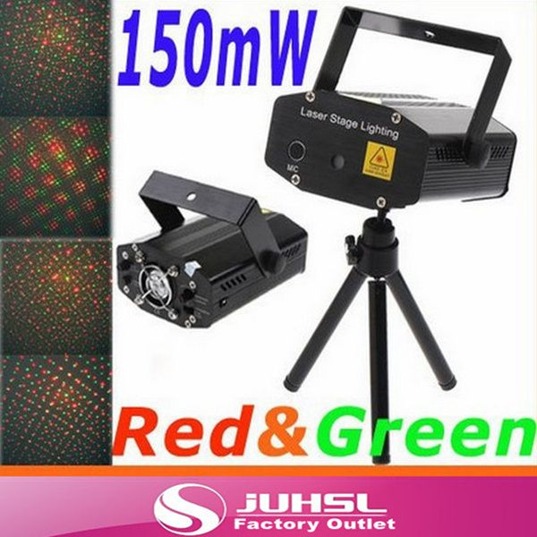 High Quality,150MW  Mini Red&Green Moving Party Laser Stage Light laser DJ party light Stage Twinkle With Tripod #Affiliate