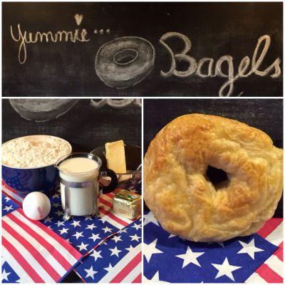 Breakfast in America: Bagels – oder – Ich back's mir: Frühstück   Lilamalerie.de
