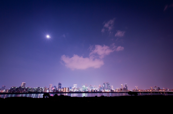 osaka,umeda nightview