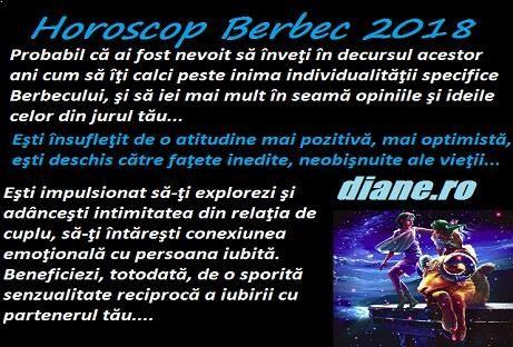 Horoscop Berbec 2018