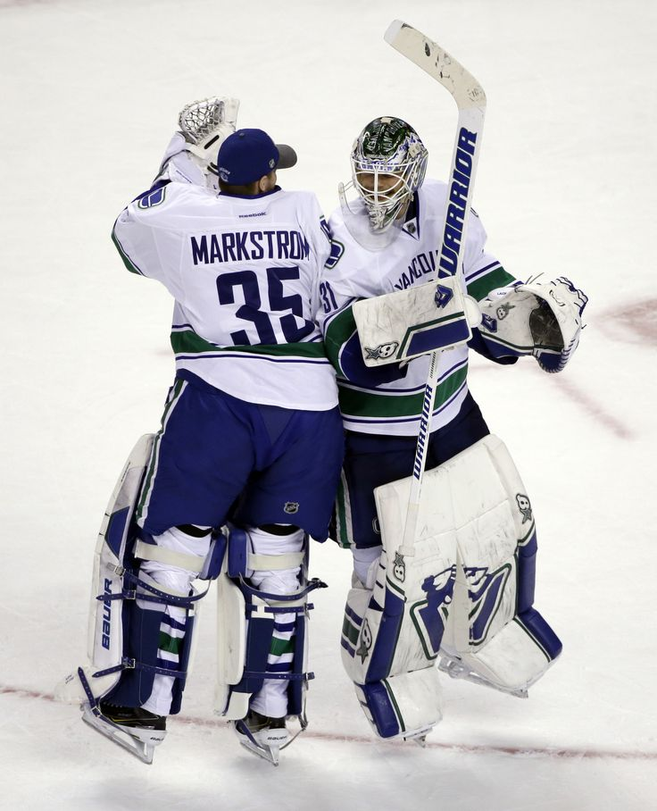 jacob markstrom canucks - Google Search