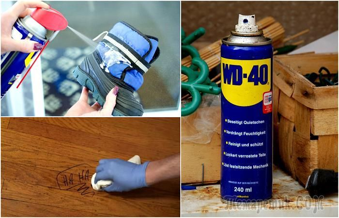 1000 ideas about wd 40 on pinterest wd 40 uses clean suede shoes and clean suede. Black Bedroom Furniture Sets. Home Design Ideas