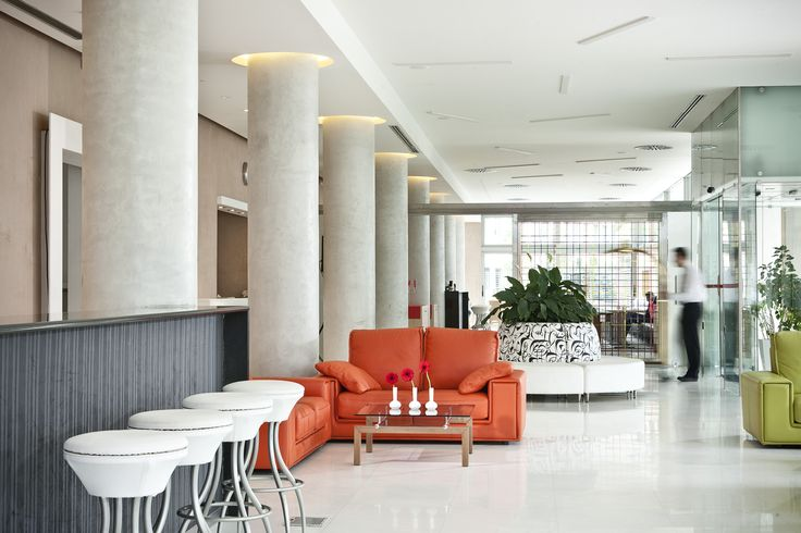Enjoy our services while you are drink your coffee at our lobby! #CivitelOlympic #AthensHotels