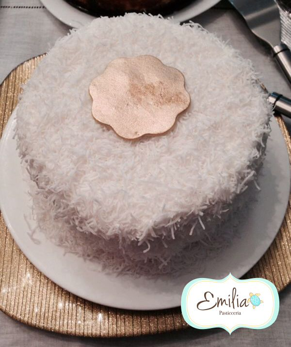 Postre de coco  Coconut dessert