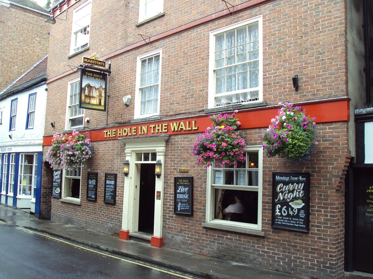 Hole In The Wall Pub, York.