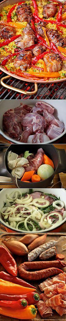 Паэлья с кроликом-гриль - Рецепты с фото пошагового приготовления на Фото-Рецепты. ру