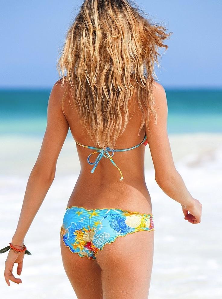 rouched bikini bottoms<3