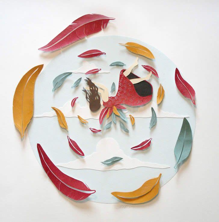 Paper art by Sarah Dennis