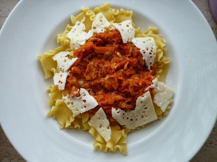 İtalyan Usulü Ton Balıklı Makarna Tarifi