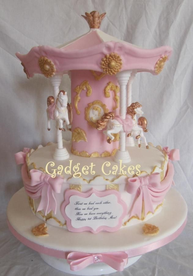 Cake Decorating Carousel : 17 Best images about carousel cakes on Pinterest Cakes ...