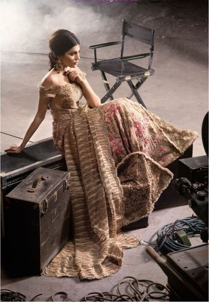 Saira Shakira Seeking Paradise Bridal Couture