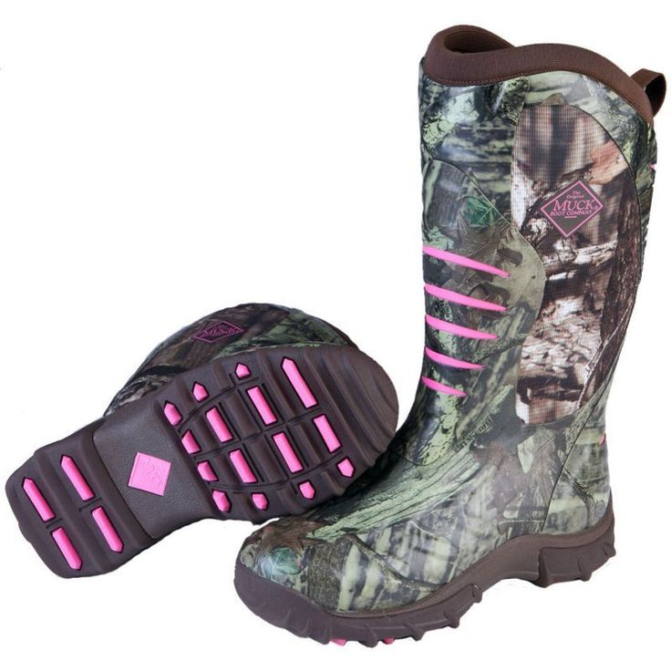 Muck Boots Women's Pursuit Stealth Rubber Hunting Boots, Size: 11, Realtree Xtra #MuckBoots