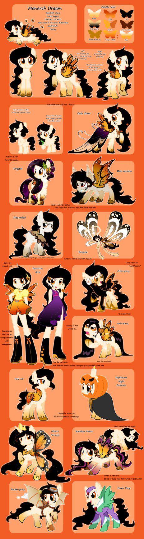Monarch Dream Reference by YokoKinawa on DeviantArt